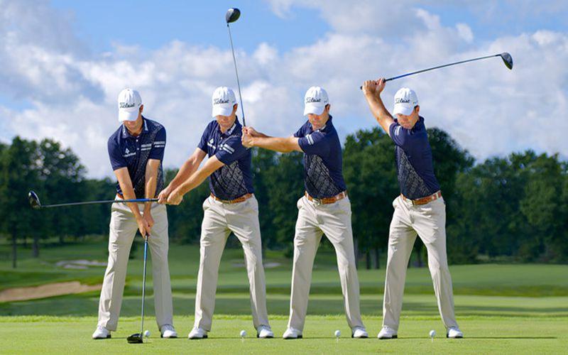 Golfer nên xác định chính xác vị trí trọng tâm của cơ thể