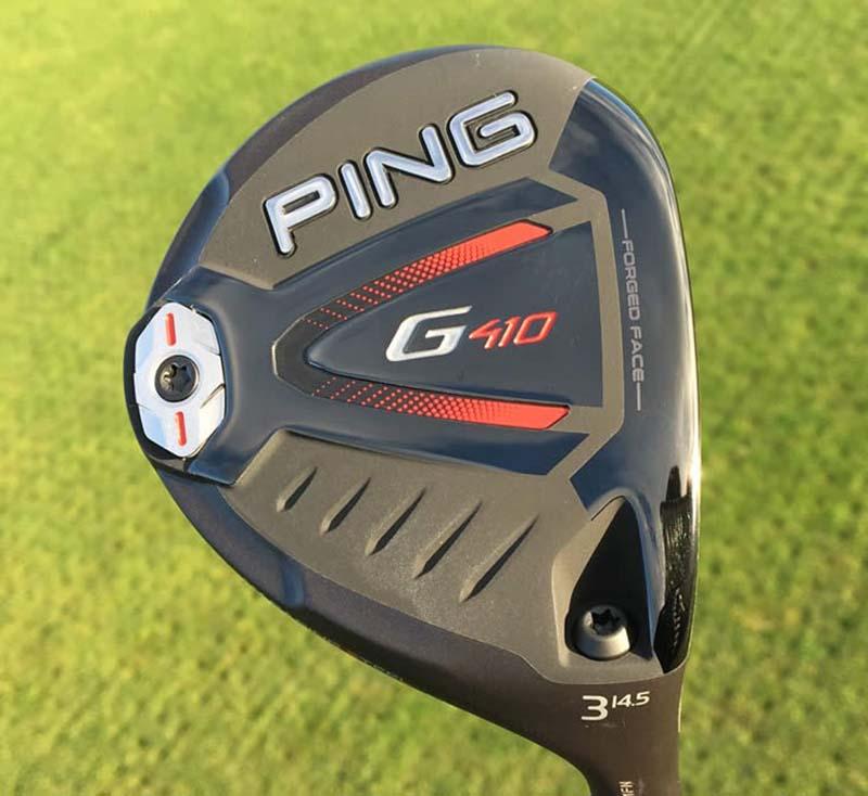 Mẫu gậy golf 3-wood Ping G410 rất được yêu thích vì hiệu suất cao