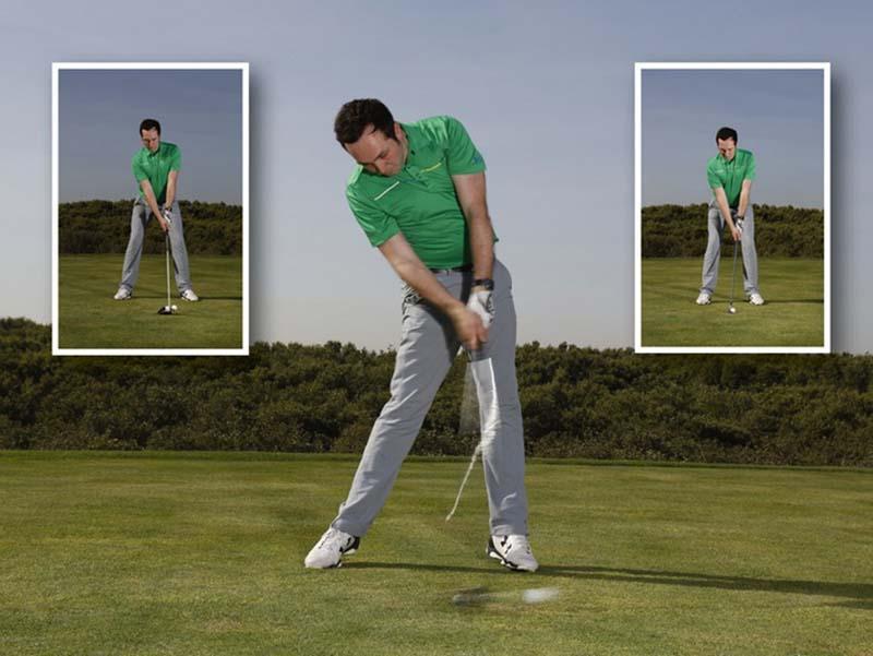 Cách set up chuẩn và swing khi đánh gậy gỗ 3