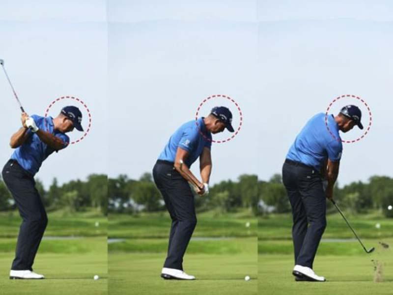 Người chơi cần thực hiện đúng kỹ thuật đánh gậy gỗ golf số 5