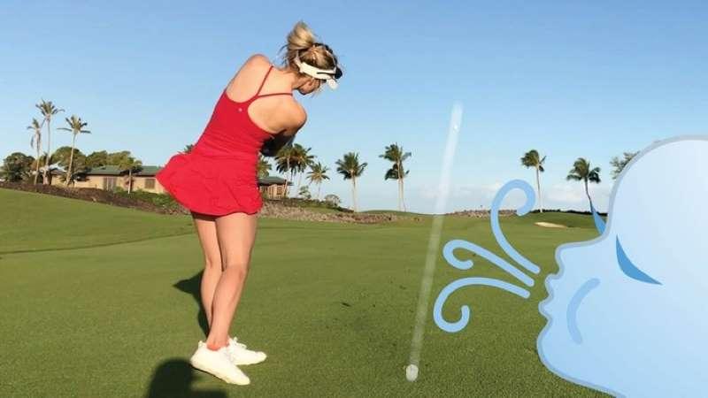 Trong kỹ thuật đánh golf xa, golfer còn phải biết đọc hướng của gió trước khi thực hiện cú swing của mình