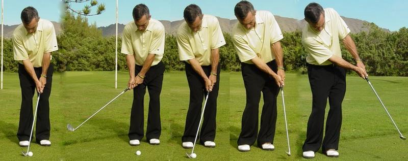 Thực hiện đúng kỹ thuật pitching sẽ giúp người chơi có cú swing hoàn hảo