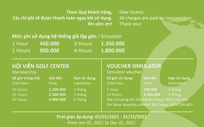 Sân golf BRG Golf Center