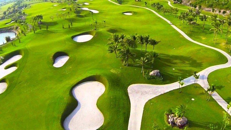 Sân golf Cam Ranh được đầu tư kinh phí lớn