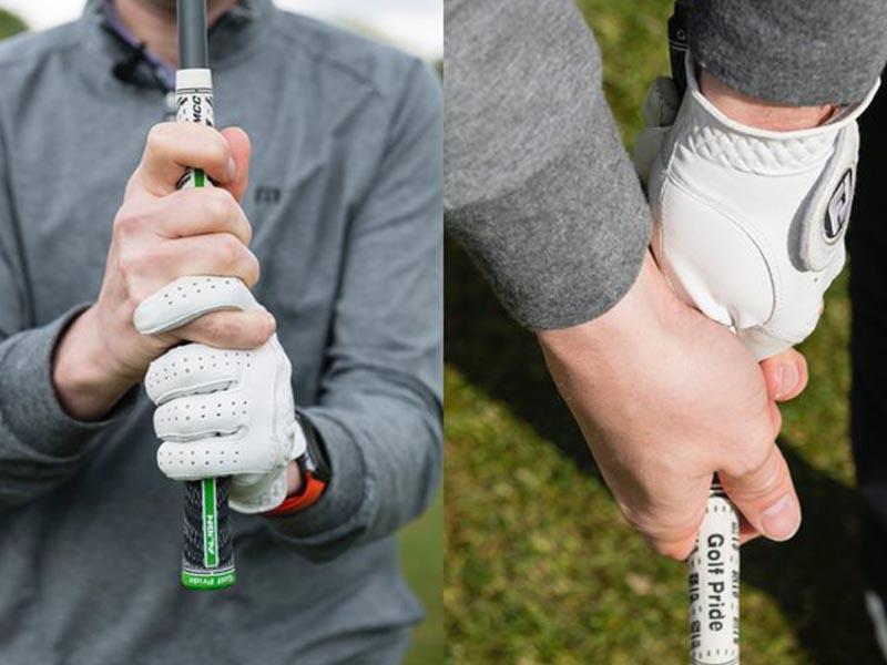 Cách cầm này thường áp dụng cho những người mới chơi lực tay còn yếu