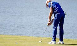 cách cầm gậy golf putter
