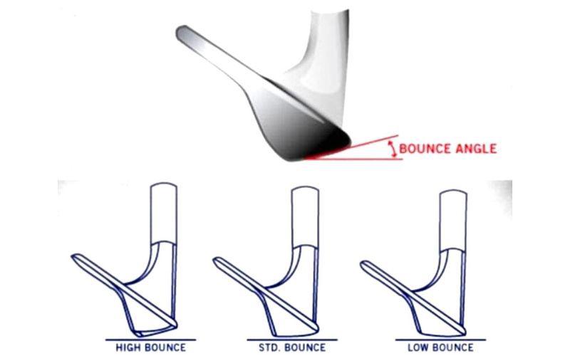 Độ bounce của gậy golf giúp người chơi có thể biến hóa linh hoạt trong nhiều tình huống