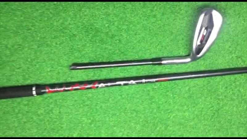 Shaft gậy phục vụ quá trình đánh bóng của golf thủ