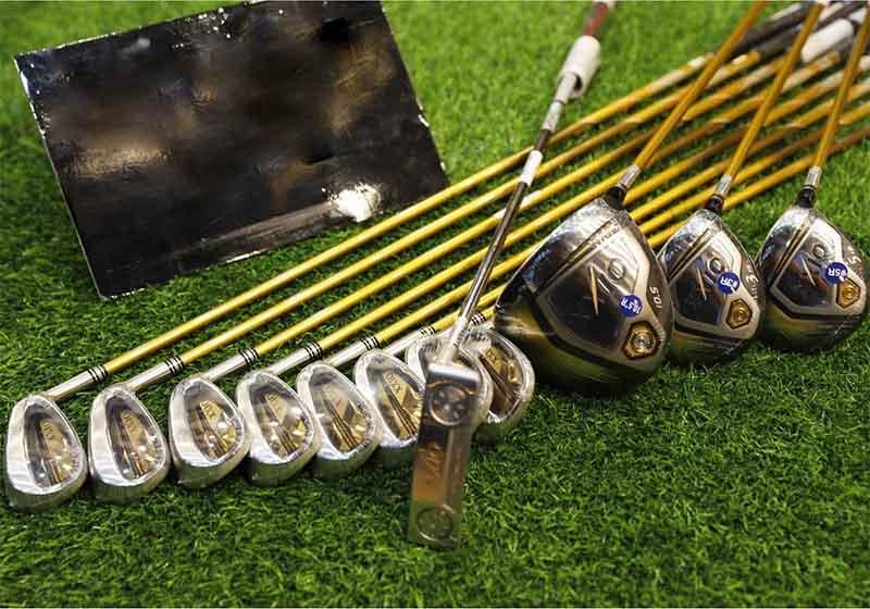Dụng cụ tập golf không thể thiếu là bộ gậy golf