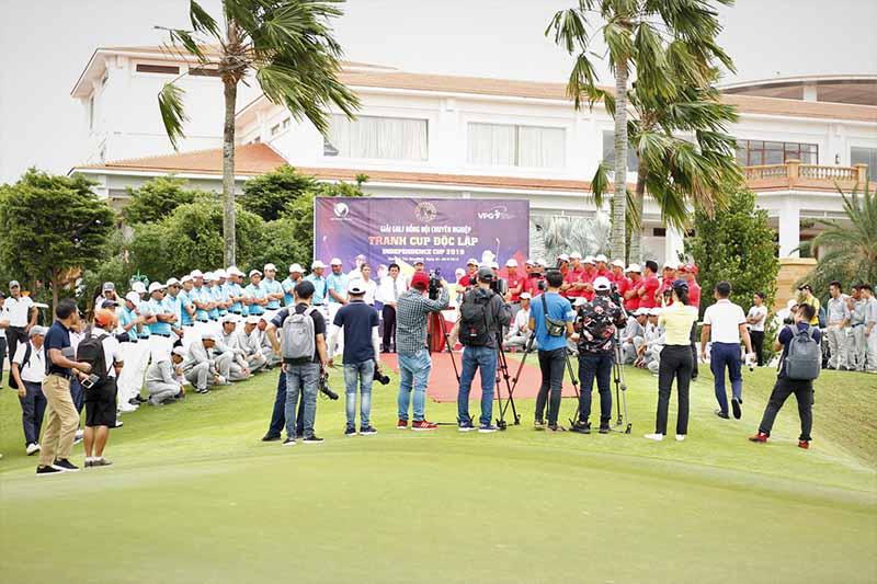 Không chỉ thế giới, giải golf chuyên nghiệp cũng được tổ chức tại Việt Nam