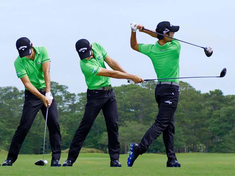 Hướng dẫn tập golf đầu tiên bằng cách cầm gậy đúng kỹ thuật