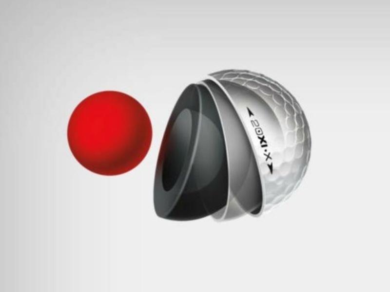 Cấu tạo của quả bóng có cấu tạo 4 lớp