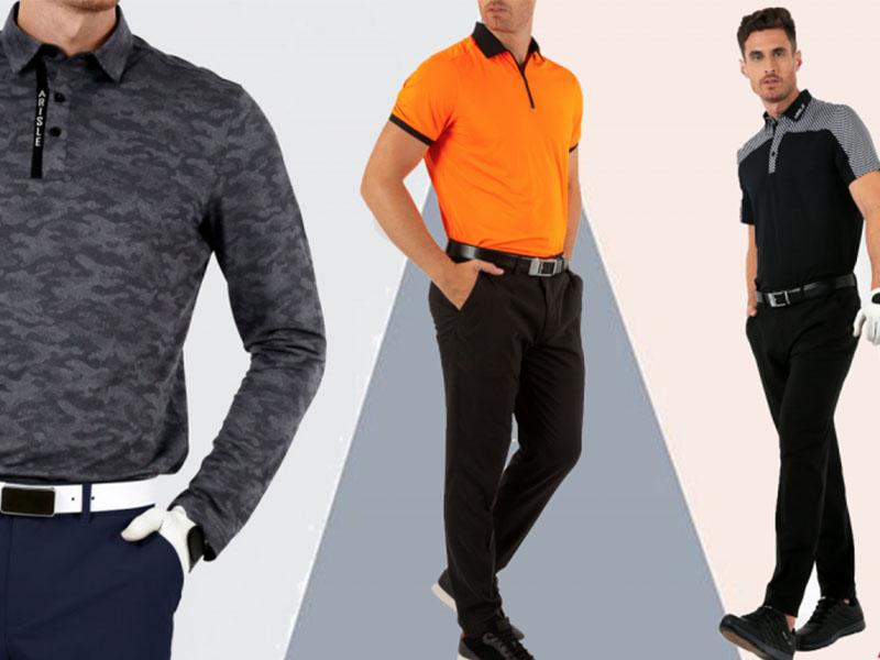 Quần dài golf nam tạo ra sự sang trọng và lịch lãm cho golf thủ khi ra sân