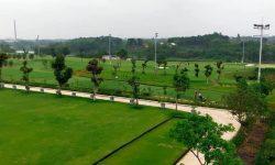 Khung cảnh của sân golf An Bình