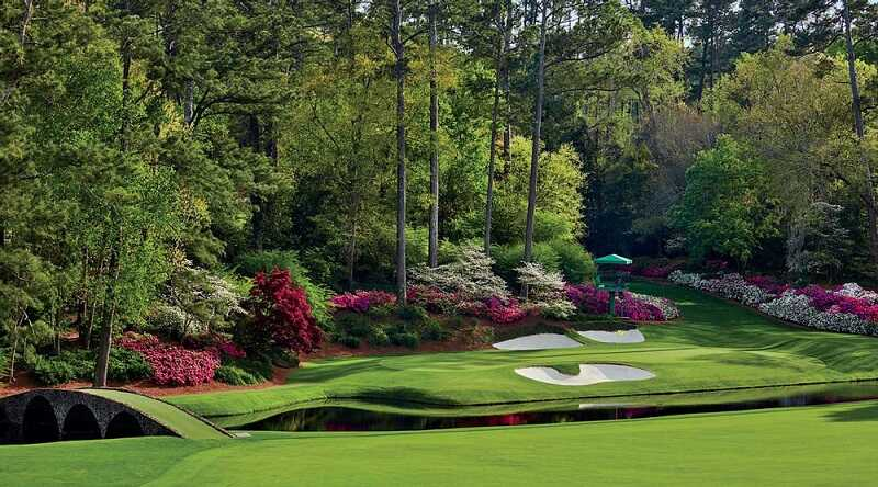 Sân golf Augusta được mệnh danh là sân golf đẹp nhất thế giới
