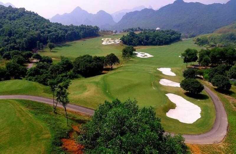 Hình ảnh minh họa cho dự án sân golf Việt Yên