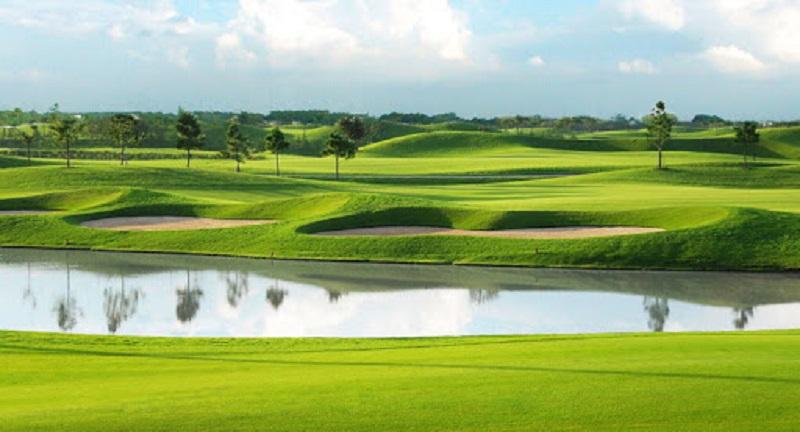 Sân Golf Mê Kông - nổi tiếng với diện tích rộng, khu sinh thái trong lành