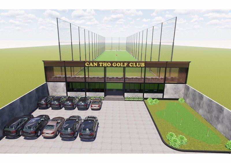 Sân Golf Cần Thơ - hệ thống sân golf được đầu tư kinh phí lớn