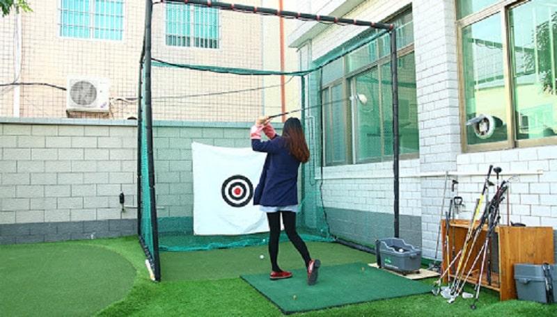 Bạn nên lựa chọn tâm phát bóng golf phù hợp với khoảng cách luyện tập