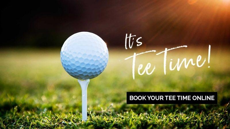 Tee time là điều rất cần thiết với golfer