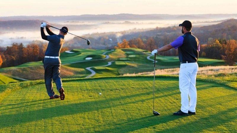 Hệ thống sân tập và cơ sở vật chất là yếu tố được đánh giá cao ở học viện golf Hà Nội