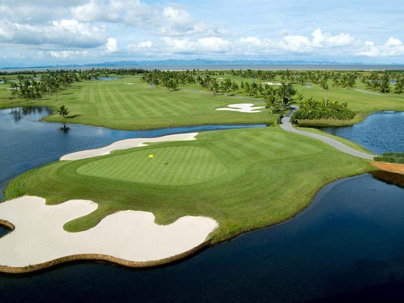 Sân golf BRG Ruby Tree Resort Đồ Sơn có thiết kế tiêu chuẩn 18 lỗ golf