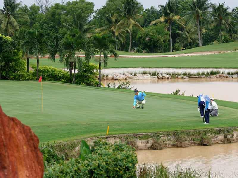 Sân golf Sông Bé có thiết kế đạt tiêu chuẩn quốc tế