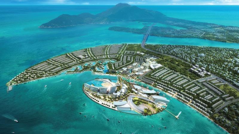 Sân golf Đa Phước nằm trong dự án Dự án Khu đô thị quốc tế Đa Phước