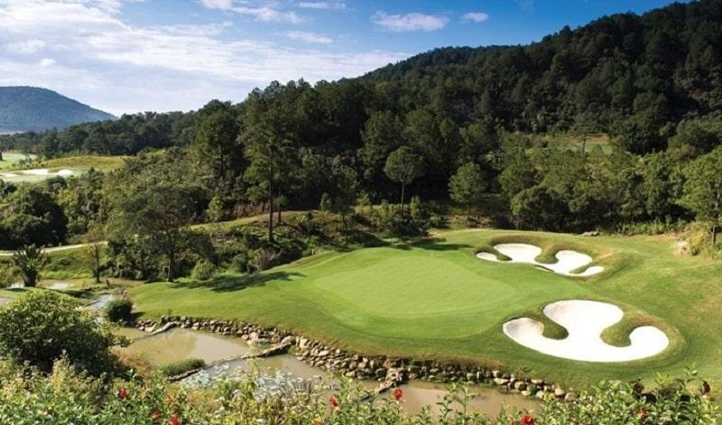 Cảm quan sân golf Đà Ròn