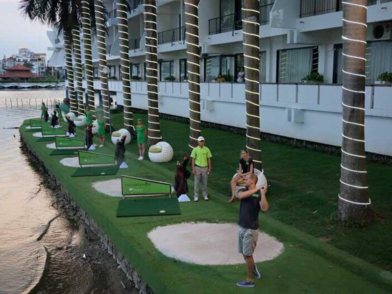 BRG Golf Center là sân golf Hà Nội có chất lượng cao