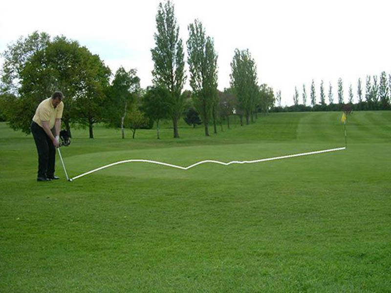 Kỹ thuật tập golf nâng cao với cú chip shot này sẽ sử dụng với các trường hợp green rộng.