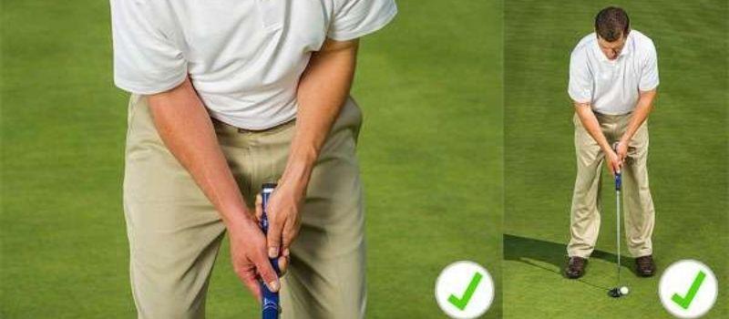 Golfer cần chú ý đến cách cầm cán gậy