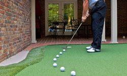 tập golf tại nhà