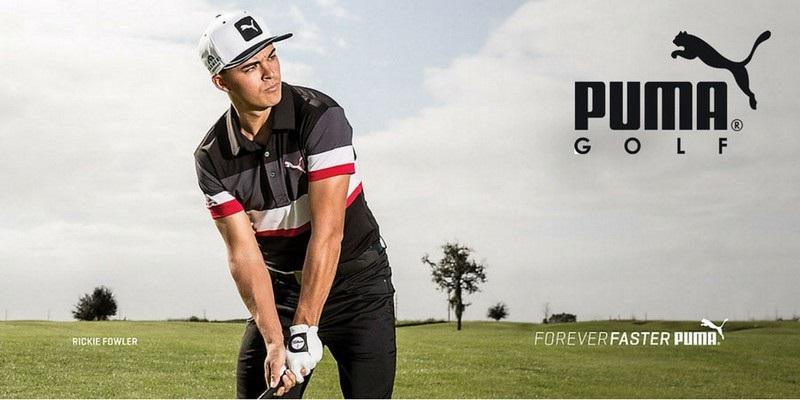 Thương hiệu thời trang golf Puma luôn chiếm thị phần cao ở nhiều quốc gia