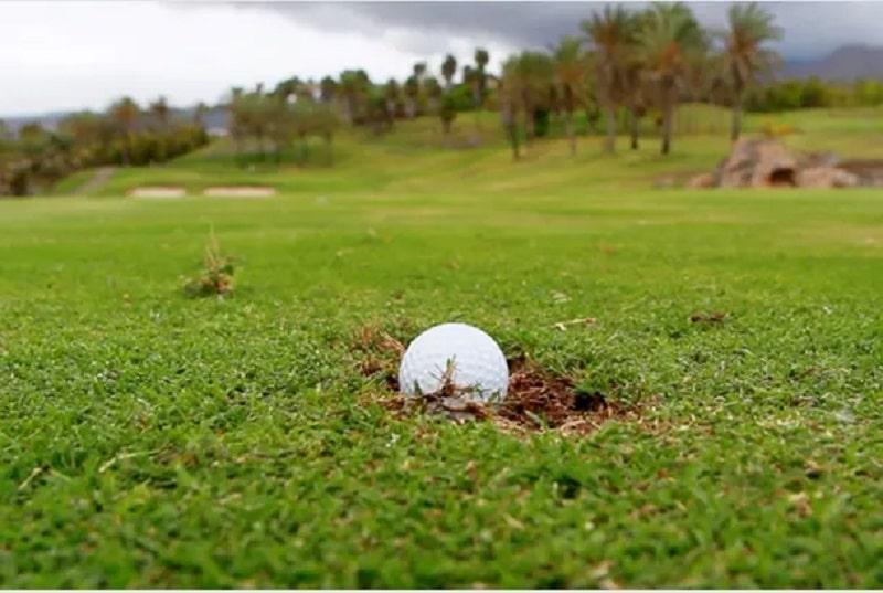 Đập đất là lỗi thường gặp khi thực hiện tư thế setup trong golf
