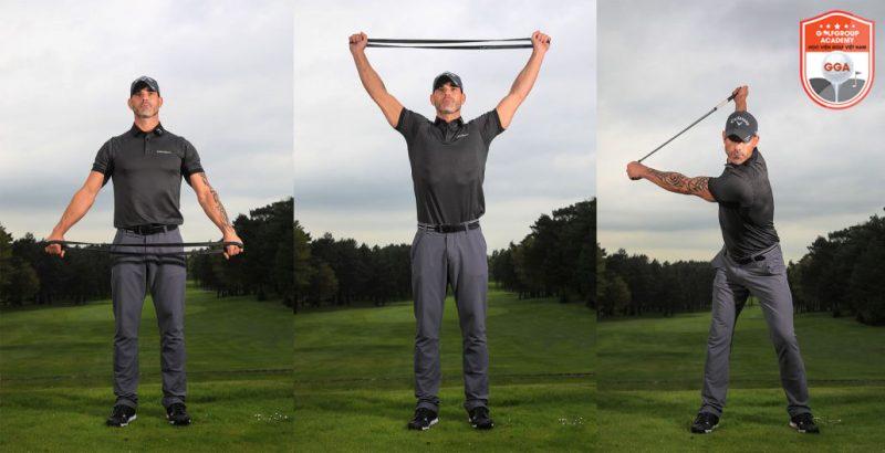 Cách học đánh golf đúng kỹ thuật nhất định phải có bước khởi động