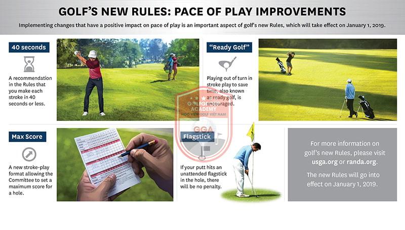 Trước học kỹ thuật đánh golf, người chơi nên hiểu rõ luật của bộ môn này
