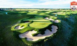 Kích thước sân tập golf ngoài trời khá phong phú và đa dạng