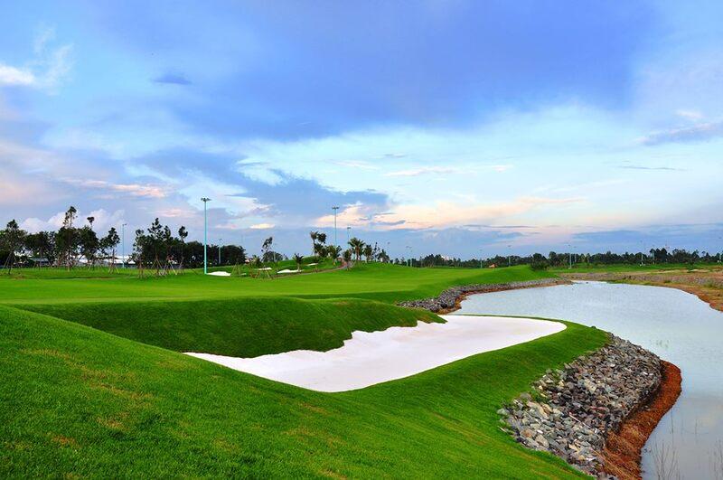 Sân golf Kim Bảng Hà Nam sở hữu cảnh quan thiên nhiên hùng vĩ