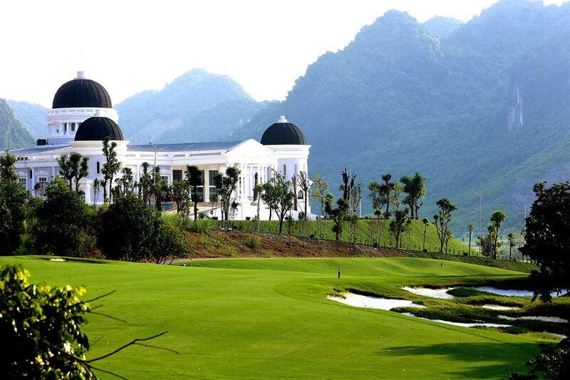Mỗi chi tiết tại sân golf Kim Bảng Hà Nam đều được chăm chút rất tỉ mỉ