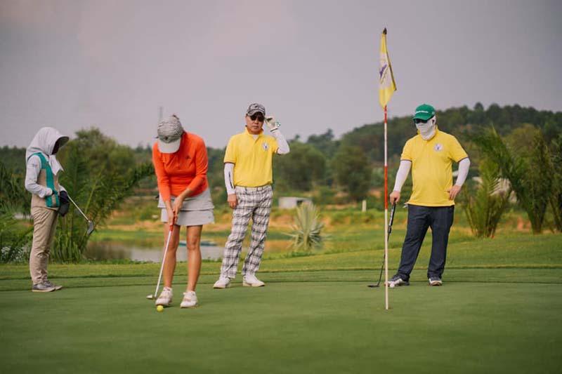 Sân tập golf Đồng Nai Golf Resort
