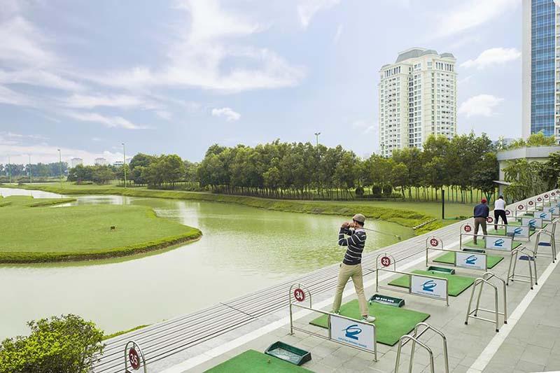 Không gian rộng lớn với nhiều thách thức khó dành cho golfer