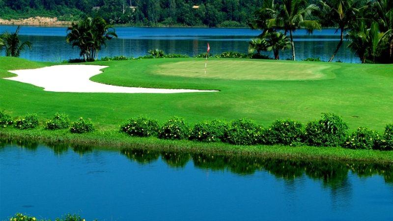 Phong cảnh tại sân golf