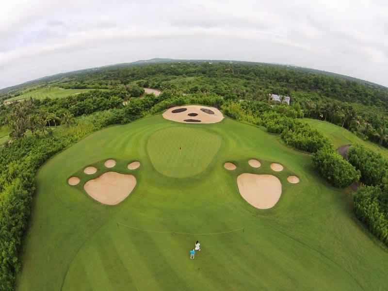 Nơi đây là điểm đến lý tưởng của các giải đấu golf lớn