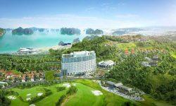 Sân golf Quảng Ninh ôm trọn khung cảnh tuyệt đẹp của Vịnh Hạ Long