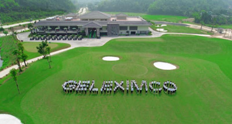Sân golf Geleximco có view trọn toàn khung cảnh tỉnh Hòa Bình
