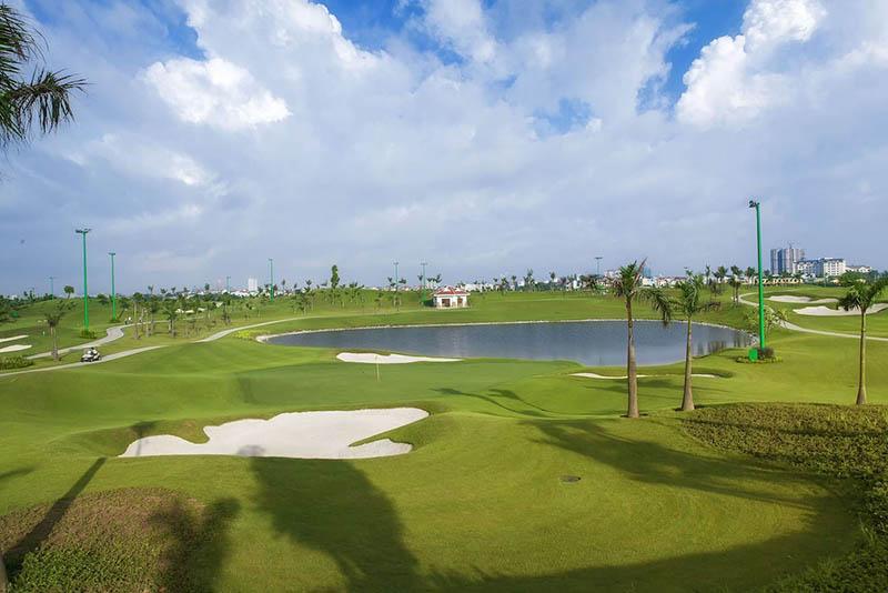 Thiết kế nhiều thách thức của sân golf