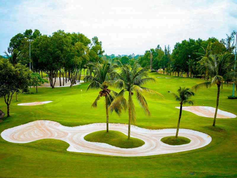 Sân golf Sông Bé tuyệt đẹp ở Bình Dương