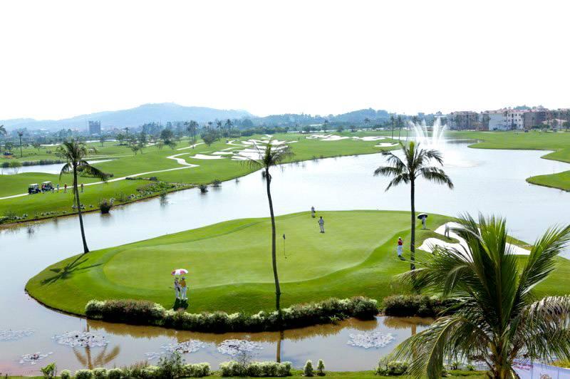 Thiết kế hòa hợp với thiên nhiên tại Sông Giá Golf Resort
