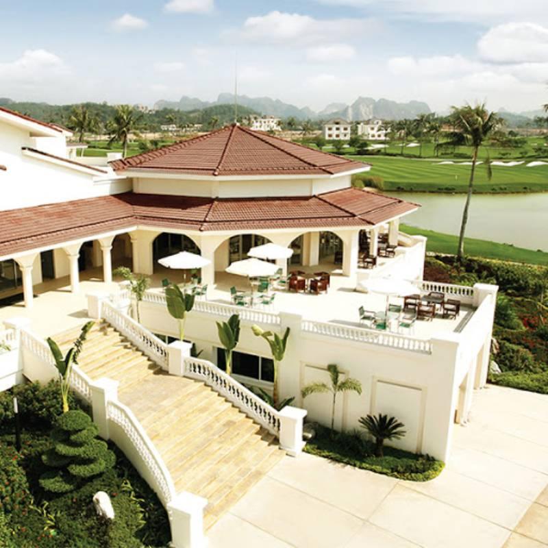 Sân golf Sông Giá tích hợp rất nhiều tiện ích hiện đại